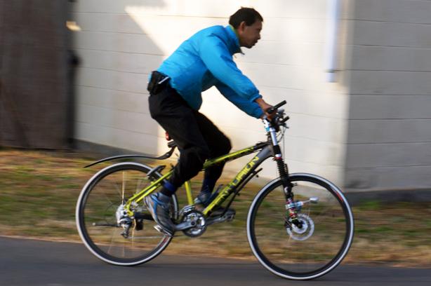 ひまつぶしのサイクリング