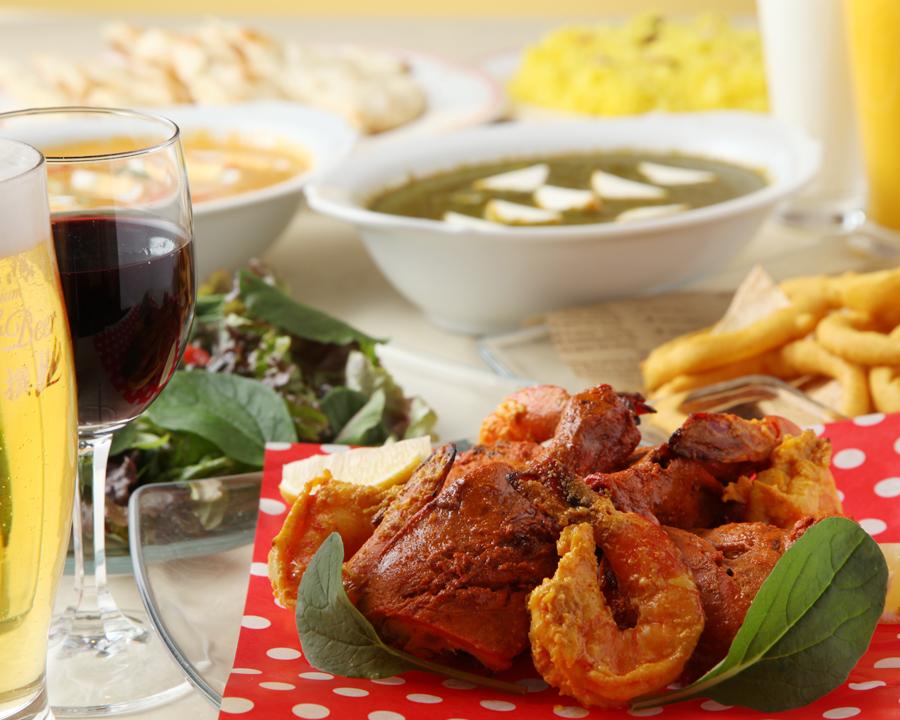 レストラン マユール(Food culture of India.)